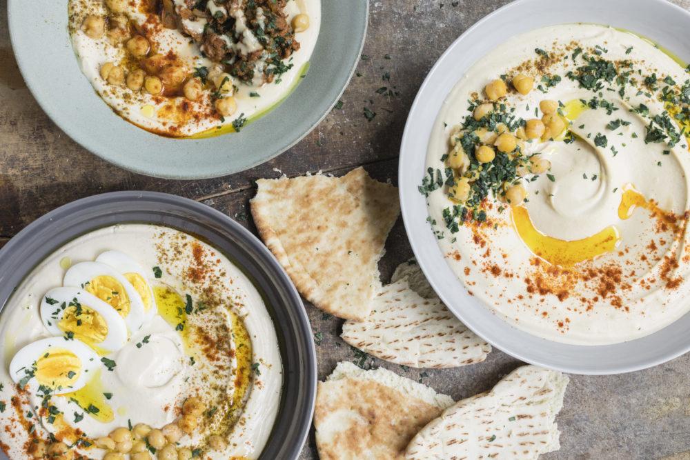 Israeli Hummus (Hummus Masabacha)